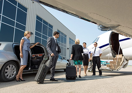 Airport Limousine Service servicing Ontario Airports including Toronto International Airport Limousine Service
